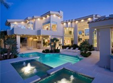 las vegas home property with pool